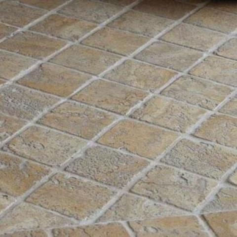 Мраморная мозаика Beige Mix 47х47x6 мм Стареная   Валтованная   Античная