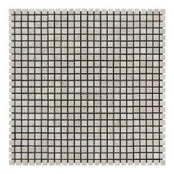 Мраморная мозаика Victoria Beige 10x10x6 мм Полированная