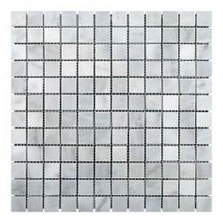 Мраморная мозаика White Mix BI 23x23x6 мм Полированная