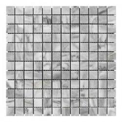 Мраморная мозаика Grey Mix 23x23x6 мм Полированная