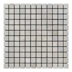 Мраморная мозаика Victoria Beige 23x23x6 мм Стареная | Валтованная