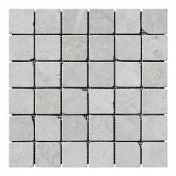 Мраморная мозаика Victoria Beige 47x47x6 мм Стареная   Валтованная   Античная